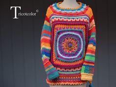 Tricotcolor De magnifiques créations,  très colorées et d'un niveau technique élevé. Un très joli blog à parcourir !