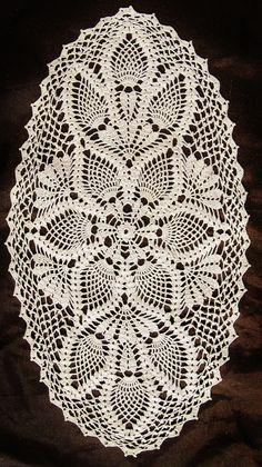 Trendy crochet doilies oval tablecloths Knitting TechniquesKnitting For KidsCrochet BlanketCrochet Scarf # Crochet Table Runner Pattern, Free Crochet Doily Patterns, Crochet Doily Diagram, Crochet Motif, Crochet Designs, Free Pattern, Diy Crafts Crochet, Crochet Art, Thread Crochet