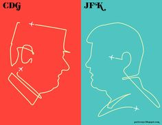 CDG vs. JFK (parisvsnyc.blogspot.com)