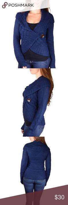 Spotted while shopping on Poshmark: New Blue Sweater Size Large! #poshmark #fashion #shopping #style #Sweaters
