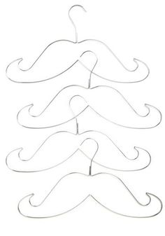 It would be so easy to take thick wire and bend them into moustache shapes, plus significantly cheaper