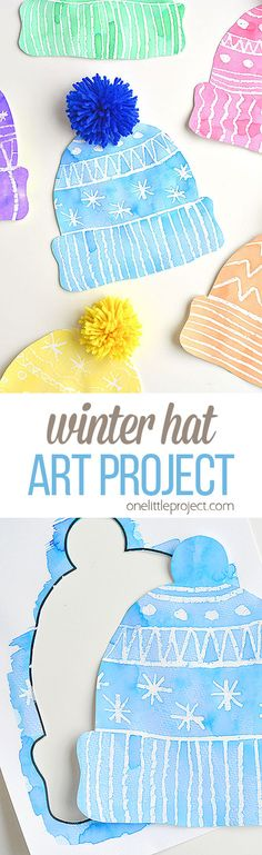 This winter hat art