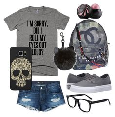 """""""Sunday!"""" by klhaudita-leto on Polyvore featuring 3x1, Vans, Chanel and Samsung"""