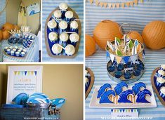 Surf party – collection of ideas – Surfer Party - SURFING Surfer Party, First Birthday Parties, Birthday Party Themes, Boy Birthday, Birthday Ideas, Surf Wedding, Rock Star Party, Surfs Up, Decoration Table