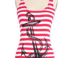 Anchored To The Sea Tank Top | PLASTICLAND