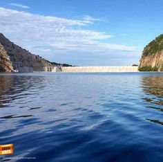 #RepresaBUC Estas son las nuevas panorámicas de Santander, la represa de Hidrosogamoso desde adentro. Gracias @ por la foto
