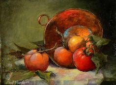Still Life Painting by Wonderful Painter Ann Hardy ~ Blog of an Art Admirer