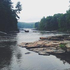 Ohiopyle in Pennsylvania's Laurel Highlands / photo by @infiniteabysspgh #explorepa #bluemovement