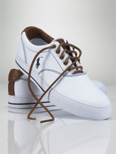Vaughn Canvas Sneaker - Polo Ralph Lauren Sneakers - RalphLauren.com