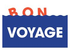 Bon Voyage by Nous Vous #typography