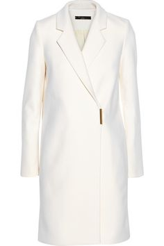 Victoria Beckham    Double-breasted wool-blend felt coat