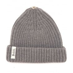 Bobbl. Classic Hat In Grey: Find your perfect winter accessory in the Bobbl Classic Hat in Grey. Made in the UK from beautiful 100% Italian merino wool, this grey knitted beanie hat offers the ideal basis to mix and match your Bobbl fur pom poms. Featuring a discreet popper at the top of the hat, it allows you to create your own unique accessory by combining it with a classic black or white, or even a cherry red pom pom to add contrast. Featuring a double cuffed turn up with elastic and logo…