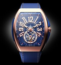 The Franck Muller Vanguard boldly takes on new concepts and designs, crafting watches that defy convention yet surrender to emotions