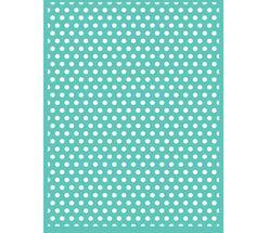 Cuttlebug Embossing Folder POLKA DOTS - Brand New - RETIRED