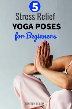 Stress relief yoga poses help to get rid of stress from school, work or married life. Discover easy to do 5 yoga workout for stress free life. Stress Relief Quotes, Yoga For Stress Relief, Stress Free, Yoga Routine, Workout Routines, Workout Videos, Workout Motivation, Yoga Poses For Beginners, Workout For Beginners