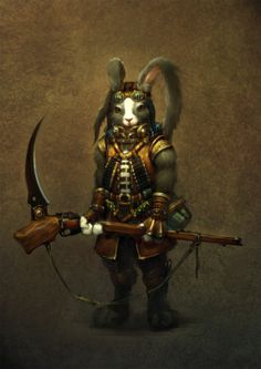 Warrior Rabbit By WinB