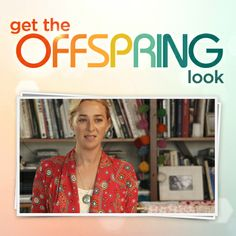 Time for our first Get the Look fashion flash. Like Nina's jacket? It's by Tigerlily.