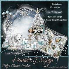 Ice-Princes-cluster-04 [HaniaDesign] - $0.50 : Hanias Design