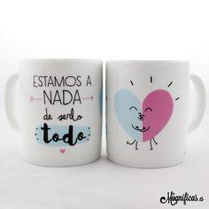 www.mugnificas.es Tazas para regalar. Diseños originales. Frases con diseño. Taza Serlo Todo