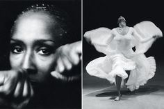 Judith Jamison, the internationally famous prima dancer of the Alvin Alley City Dance Theater, and Delta Sigma Theta Sorority member.