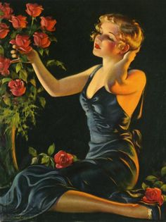 1930's by Bradshaw Crandell.  Lovely.