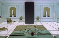 '2001: A Space Odyssey', directed by Stanley Kubrick, 1968.