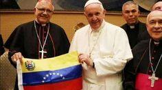 """<p>El Papa Francisco recibió hoy al nuncio en Venezuela, monseñor Aldo Giordano, quien contó que el Pontífice lo alentó a """"hallar caminos de solidaridad, el camino de donar esperanza a las personas y mantener una fe"""". El Papa reiteró (según afirmó el nuncio en una entrevista con Radio Vaticana)que la Santa Sede está disponible para toda ayuda si se abren posibilidades de algún tipo de tratativa, o cuando vea que hay una voluntad real de afrontar los problemas.</p>"""