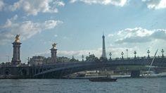 Belle Vue du #BateauBus sur la #Seine #Paris June 2014 www.pinterest.com/annbri/