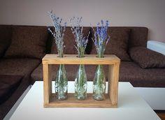 #vaze #bottle #recycled #recycledbottle #bottledecoration #decor Glass Vase, Recycling, Bottle, Products, Home Decor, Homemade Home Decor, Flask, Repurpose, Interior Design