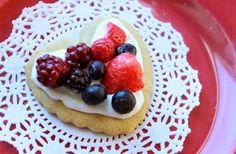 Grain Crazy: Healthy Valentine Dessert Pizzas - With Whole Grain Sugar Cookie Recipe (gluten free)