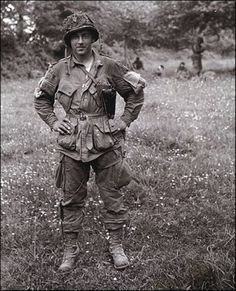 Forrest Guth, Easy Company 2nd Battalion,506th Parachute Infantry Regiment, 101st Airborne Division.