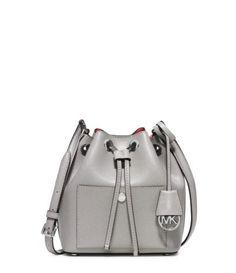 MICHAEL Michael Kors Greenwich Small Saffiano Leather Bucket Bag