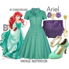 DisneyBound is meant to be inspiration for you to pull together your own outfits which work for your body and wallet whether from your closet or local mall. As to Disney artwork/properties: ©Disney Disney Character Outfits, Cute Disney Outfits, Disney Princess Outfits, Disney Themed Outfits, Disneyland Outfits, Character Inspired Outfits, Disney Bound Outfits, Disney Dresses, Cute Outfits