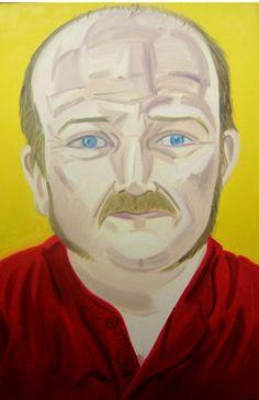 'Alan', oil on canvas, 90 x 60cms, 2008