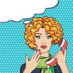 stock-illustration-79262969-surprised-redhead-woman-on-phone-pop-art-comic-vector-illustration.jpg (235×235)