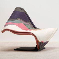 Simon Desanta Flying Carpet chair for Rosenthal 1988