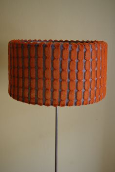 machine knitted lampshade cover