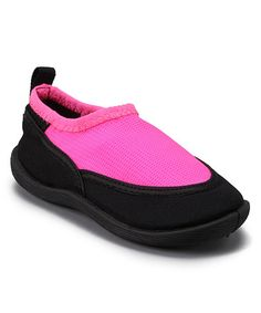 Look what I found on #zulily! Pink & Black Water Shoe #zulilyfinds