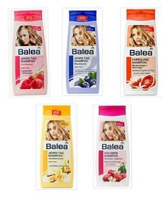 Balea shampoo 0,65 €