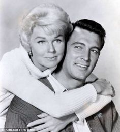 Doris Day &  Rock Hudson, they were great together in the movies