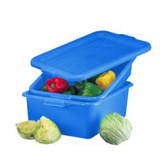 VOLLRATH TRAEX COLOR-MATE 3 PIECE FOOD STORAGE DRAIN BIN COMBO SET W/ LID in Home & Garden | eBay
