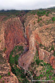Climbing area, Tenerife, Spain