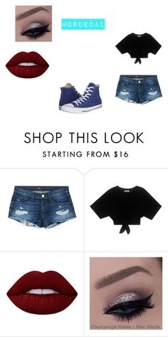 """Mordecai 13"" by shadow-killer-101 on Polyvore featuring 3x1, Lime Crime and Converse"