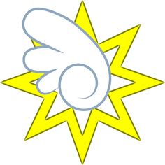 This is the Cutie Mark of my brony Thunder Crash. Mlp Deviantart, Mlp Cutie Marks, Mlp Base, Twilight Sparkle, Symbols, Drawings, Disney, Cute, Royals