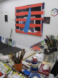 Artist Interview - Jered Sprecher | 13 ways of looking at painting by Julia Morrisroe The Artist's Way, Art Criticism, Painting & Drawing, Interview, Studio, Abstract, Drawings, Blog, Atelier