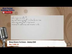 Many Rivers To Cross - Jimmy Cliff Vocal Backing Track with chords and l...