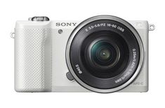 I carry this with me on my travels - high quality photos sans the bulk. Sony Alpha a5000  (affiliate link)
