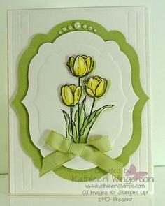 KathleenStamps: Blessed Easter Card