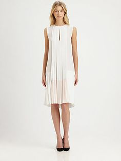 A.L.C. - Saphier Silk Georgette Dress - Saks.com