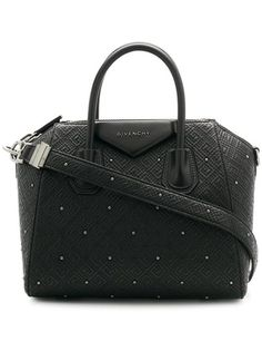 d35364c0c6f Givenchy Small Antigona 4g Black Quilted Studded Calfskin Leather Cross  Body Bag - Tradesy Leather Crossbody